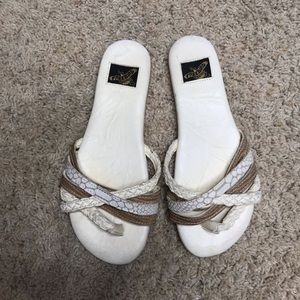 Freebird Sweet Leather Sandal Slides